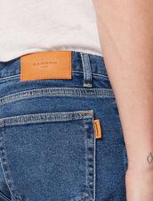 Jeans Délavé - Slim : Jeans colore Blue Vintage - Denim