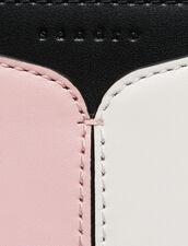 Sac Lou Petit Modèle : null couleur Noir/Blanc/Pivoine