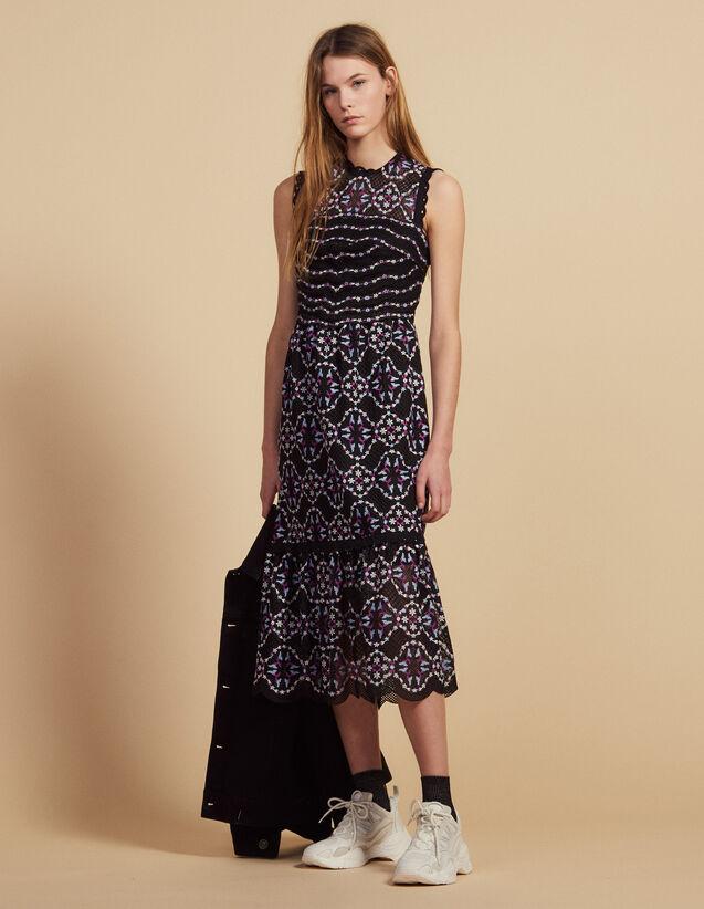 Robe Longue En Guipure : LastChance-FR-FSelection couleur Noir