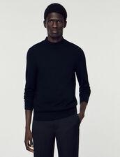 Pullover Con Collo A Lupetto : Maglioni & Cardigan colore Nero