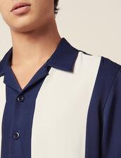 Camicia Fluida A Maniche Corte : LastChance-RE-HSelection-Pap&Access colore Blu