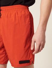 Costume Da Bagno Corto : Bagno di sole colore Arancio