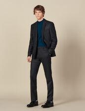 Pantaloni Da Completo In Lana : Abiti & Smoking colore Antracite