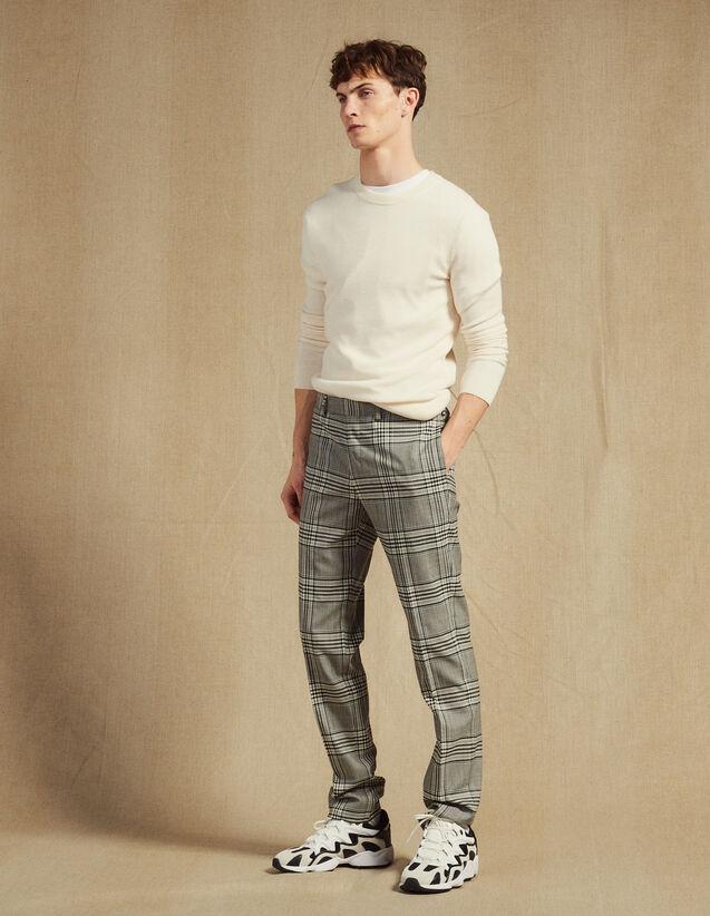 Pantaloni Da Completo Classici : Abiti & Smoking colore Grigio