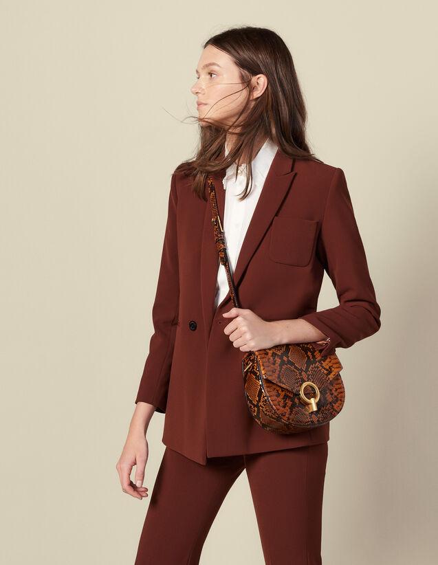 Giacca tailleur : Giacche & Giubbotti colore Tabacco