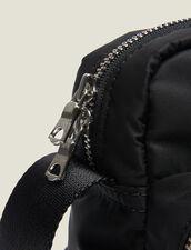 Borsa Stile Bisaccia In Nylon Matelassé : Tutta la Pelletteria colore Nero