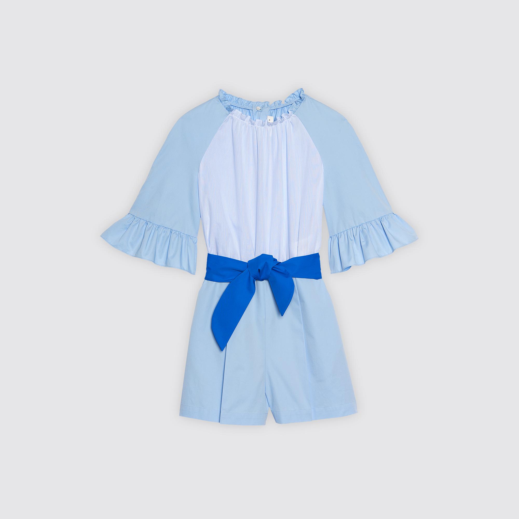 Combishort con volant : Gonne & Short colore Sky Blue