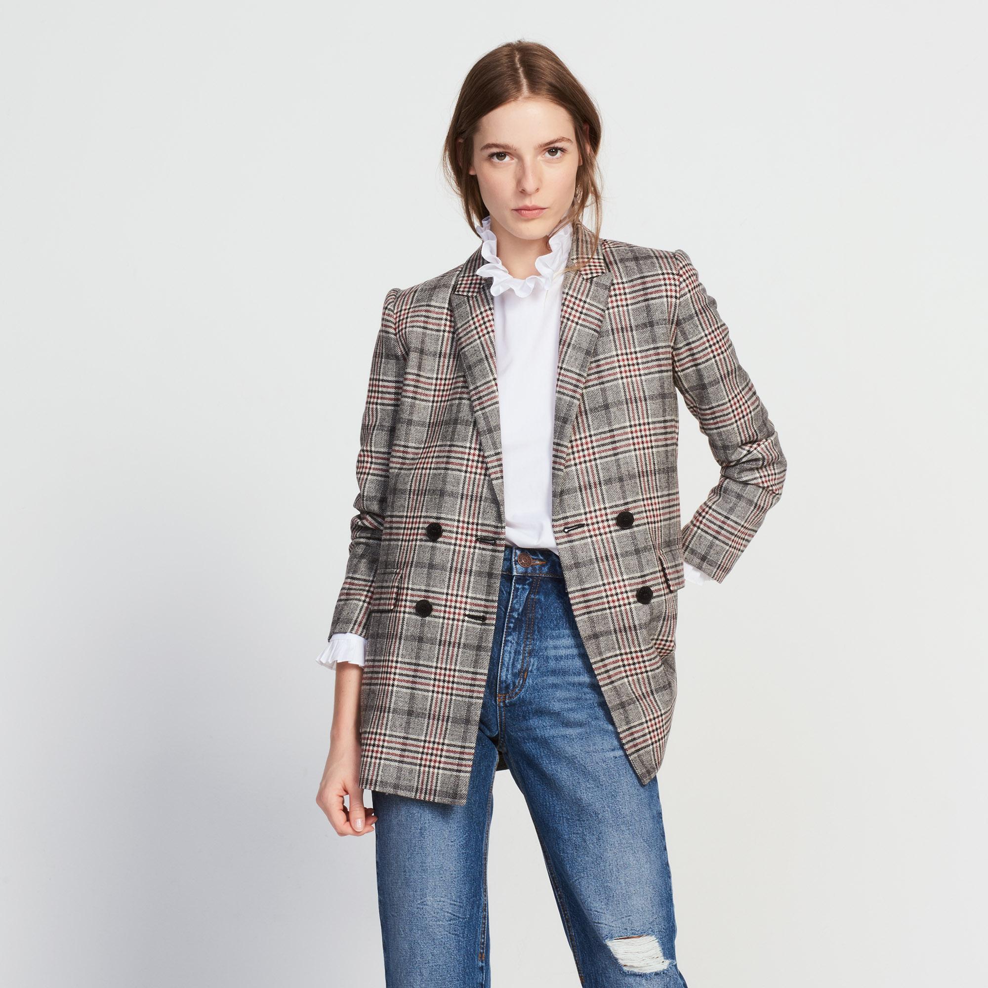 Giacca misto lana doppia abbottonatura : Collezione Inverno colore
