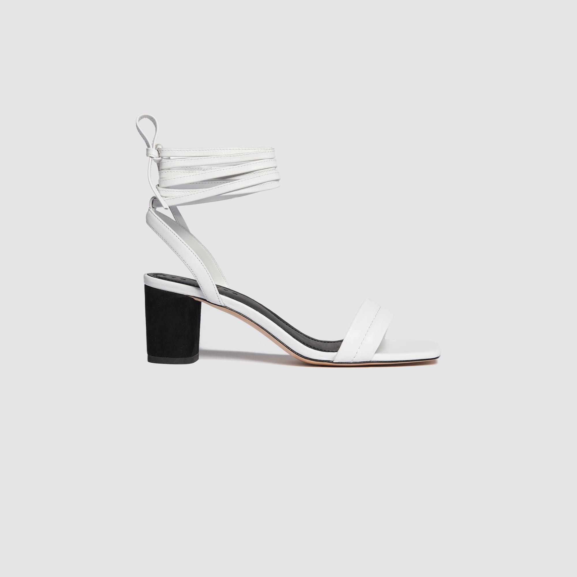 Sandali con laccio da annodare : Tutte le Scarpe colore Bianco
