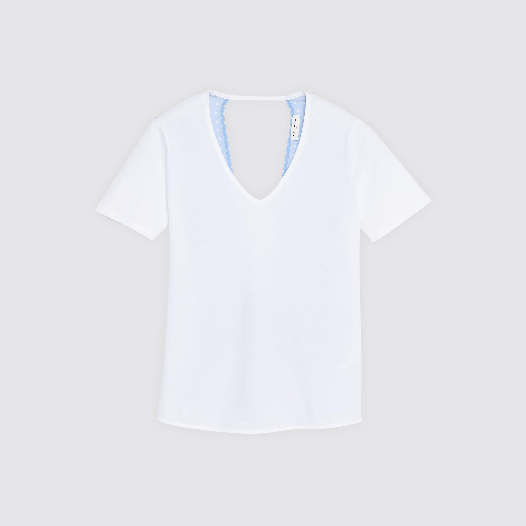 T-shirt tornando indietro : Magliette colore Bianco