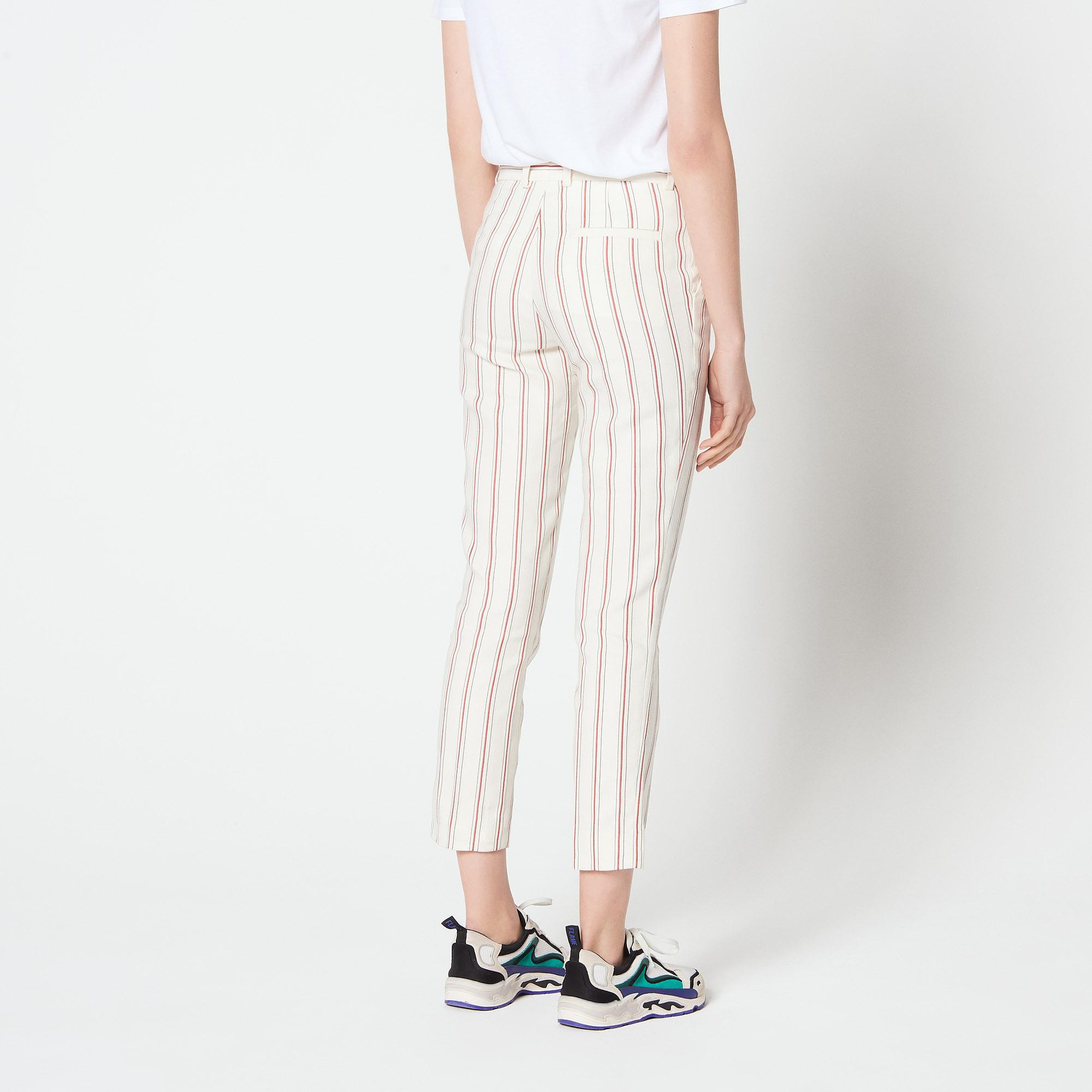 Pantaloni 7/8 : Simple Cadence colore Ecru