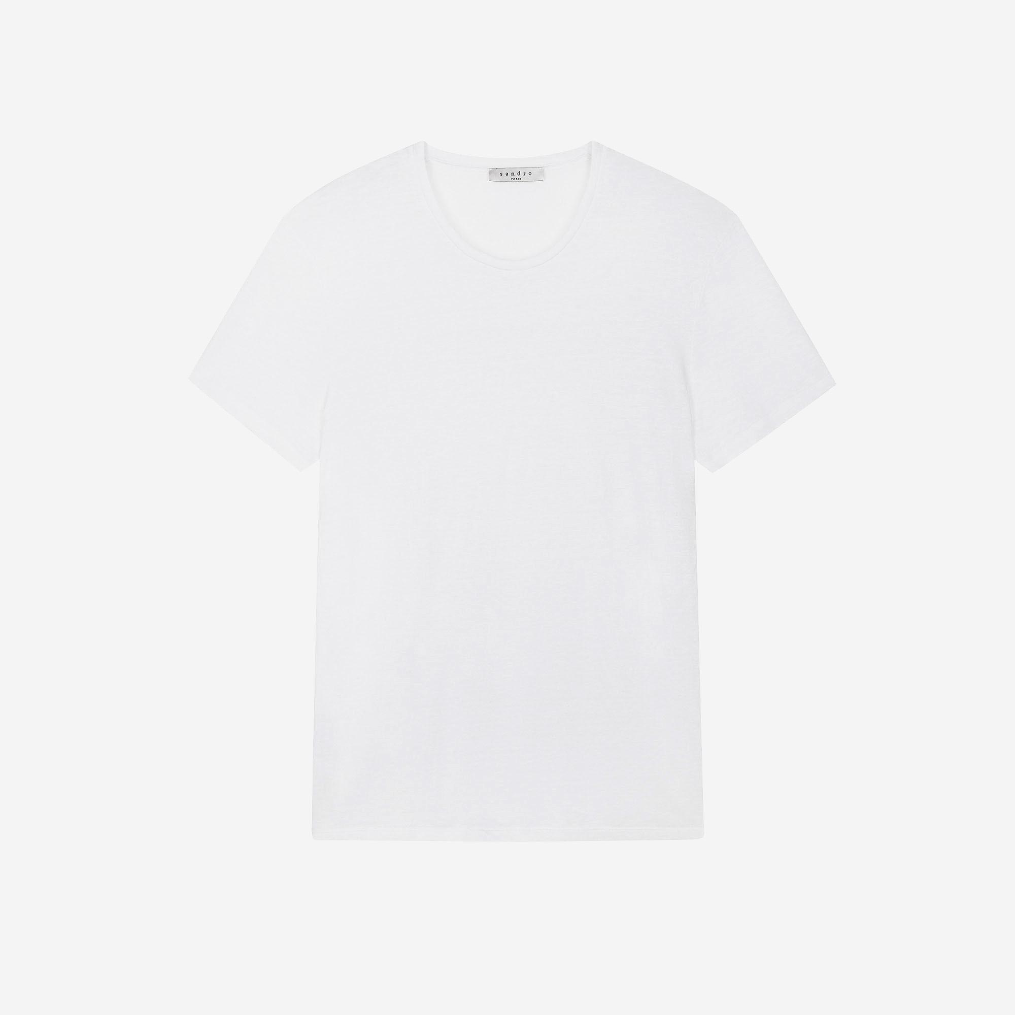 T-shirt en lin : Collezione Estiva colore Bianco