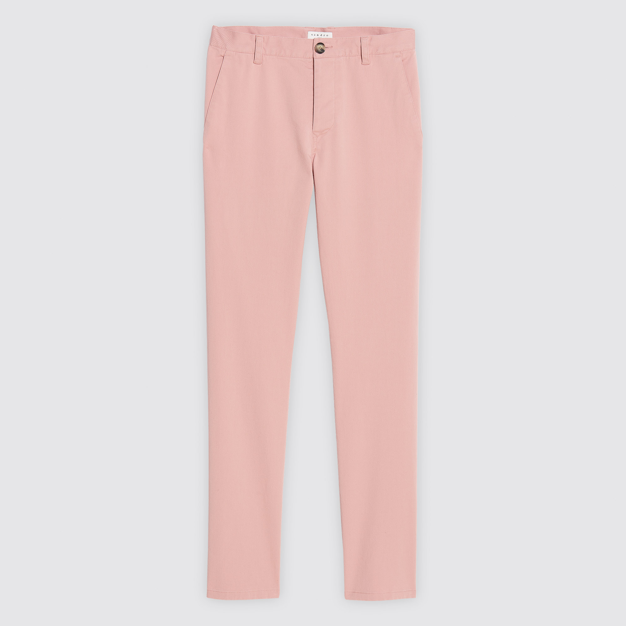 Pantaloni chino : Pantaloni & Short colore Rosa Chiaro