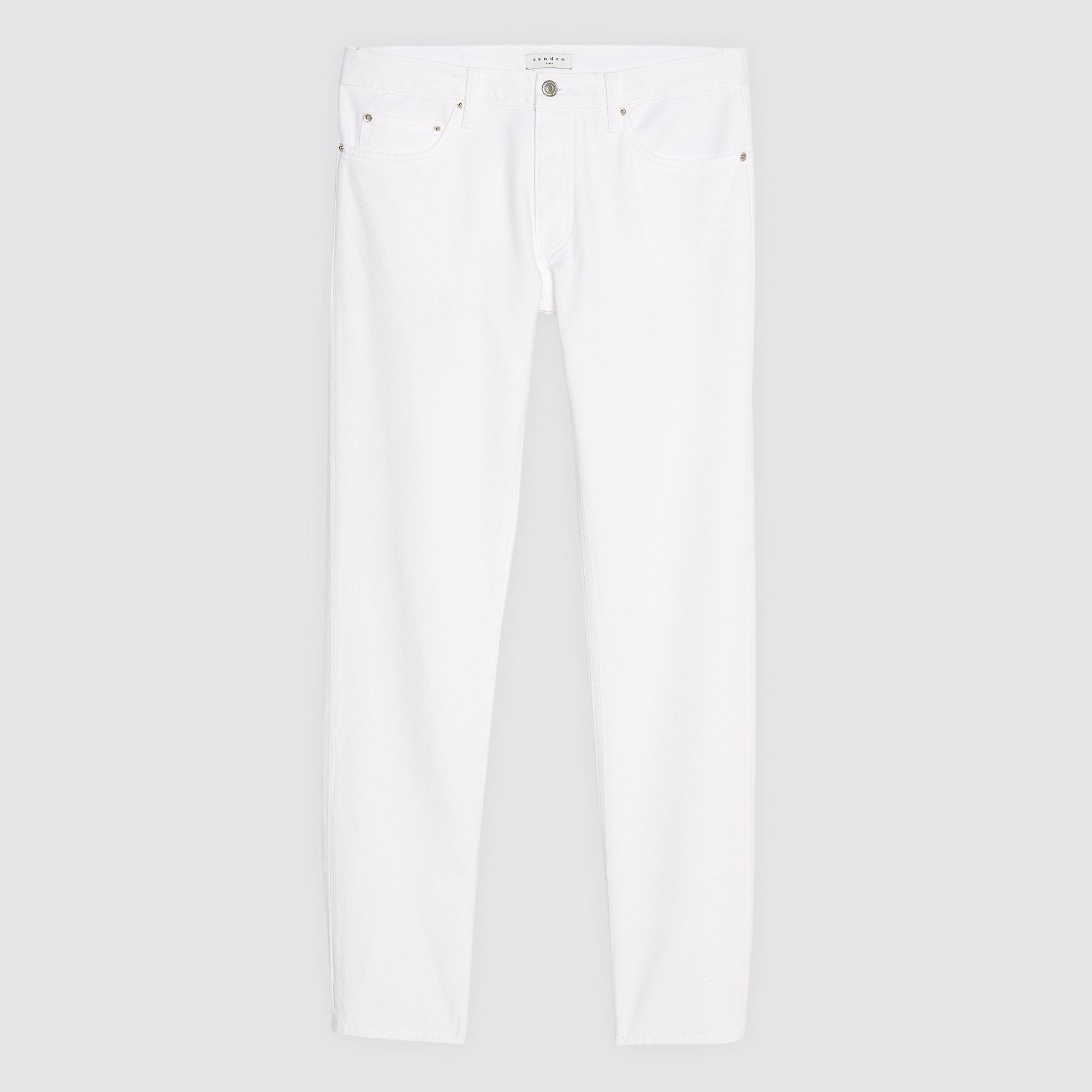 Jeans slim bianchi : Collezione Estiva colore Bianco