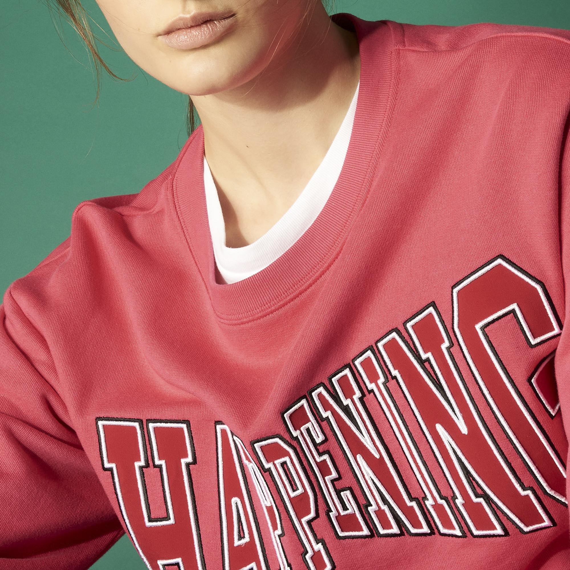 Pullover Happening : Collezione Estiva colore Rosso Ciliegia