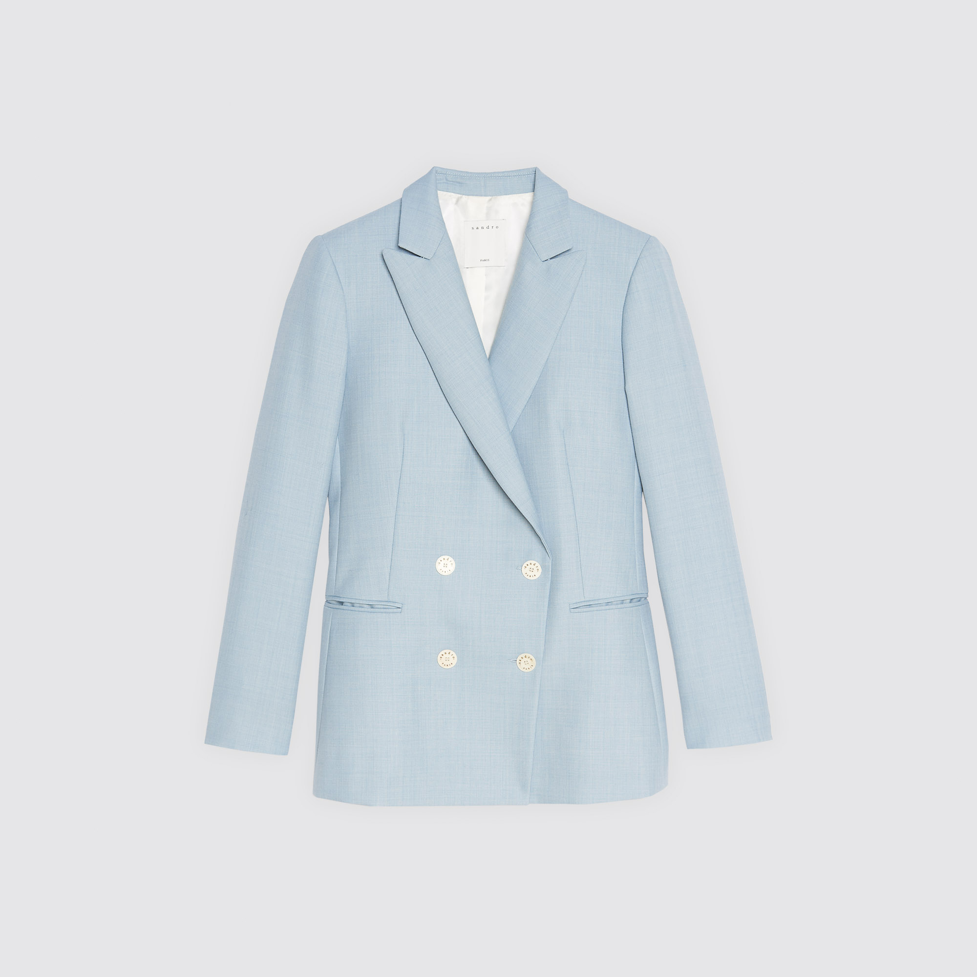 Giacca da tailleur azzurra : Giacche & Giubbotti colore Sky Blue