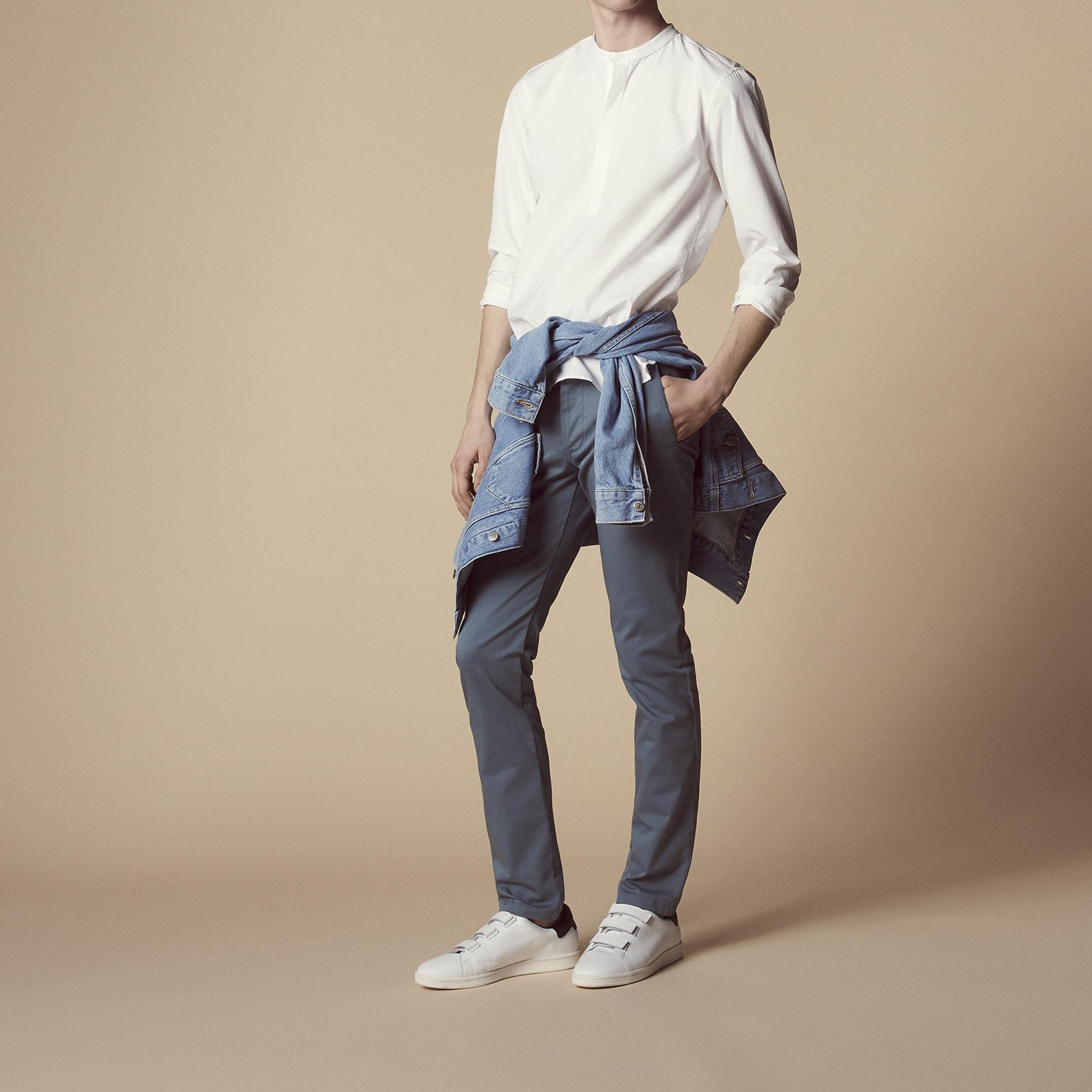 Pantaloni chino : Pantaloni & Short colore Grigio blu