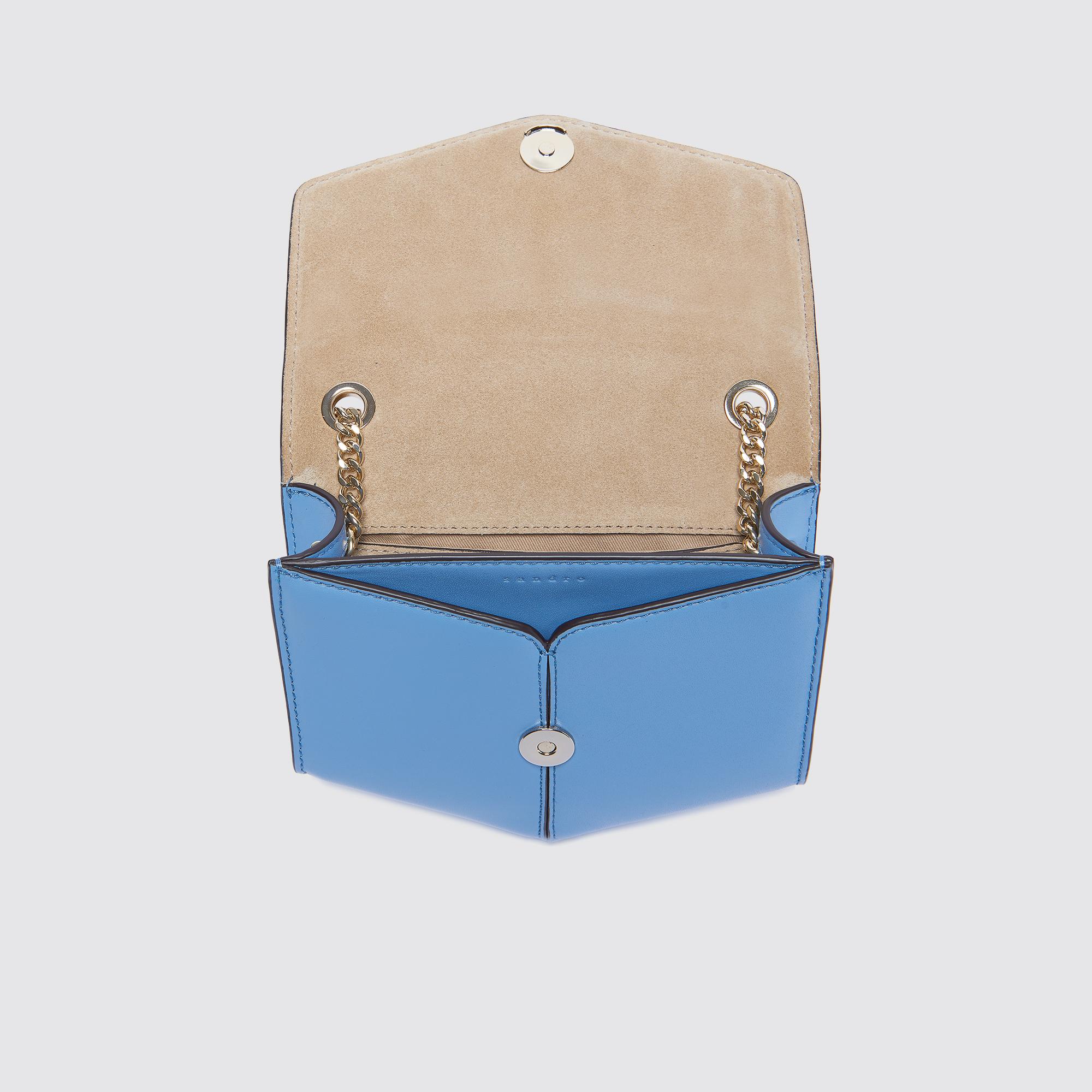 Borsa Lou piccola modello intrecciato : Esclusiva web colore Azzurro