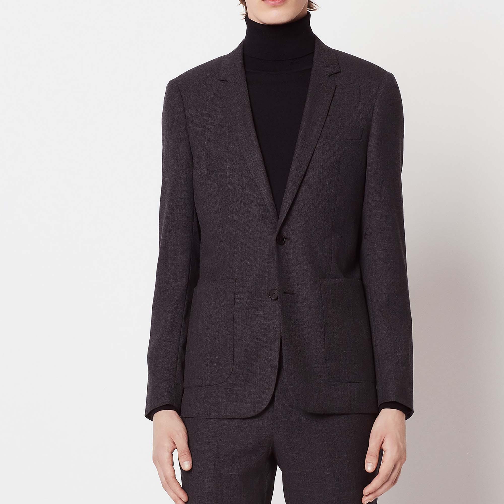 Giacca da completo in lana : Abiti & Smoking colore Grigio