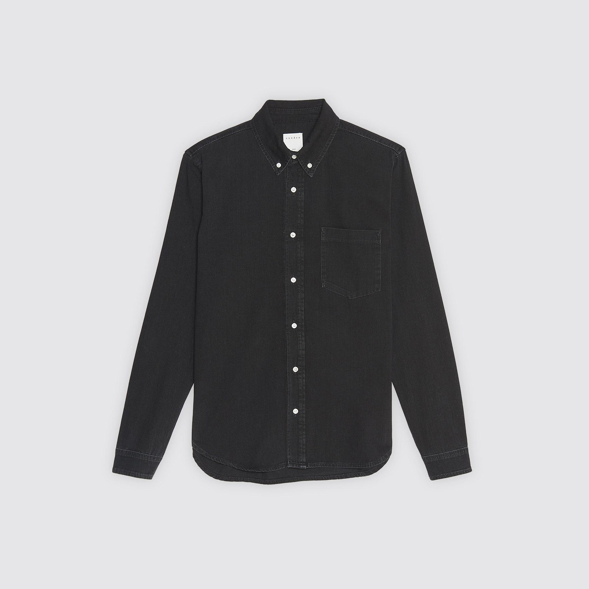 Camicia in jeans : Collezione Estiva colore Nero
