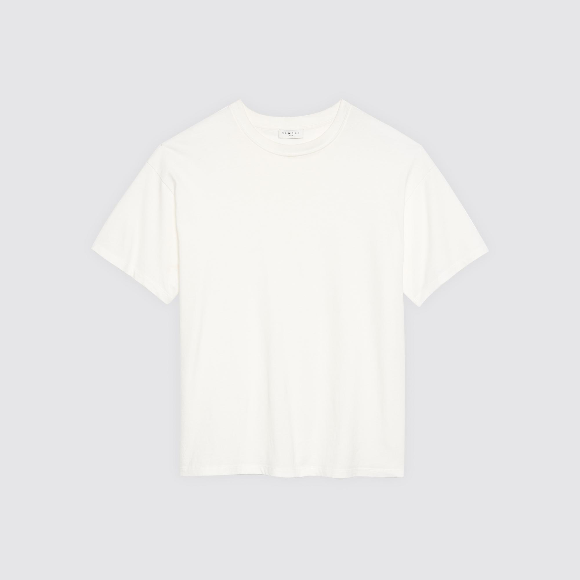 T-shirt oversize : Collezione Estiva colore Bianco
