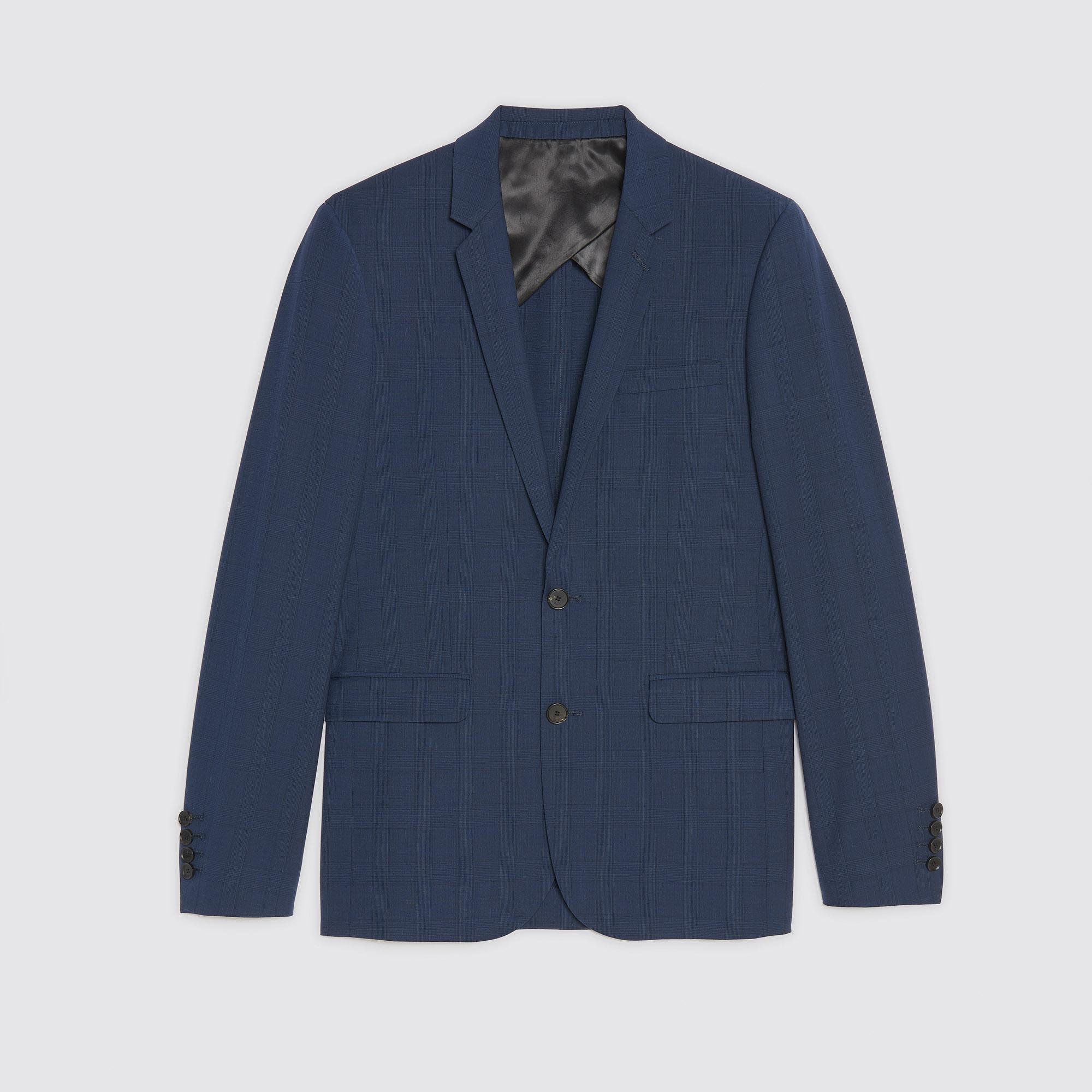 Giacca da completo Principe di Galles : Abiti & Smoking colore Grigio blu