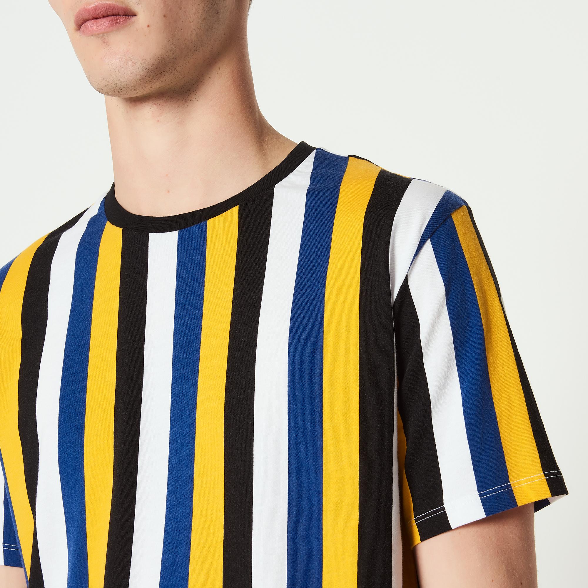 T-shirt a righe : Magliette & Polo colore Giallo