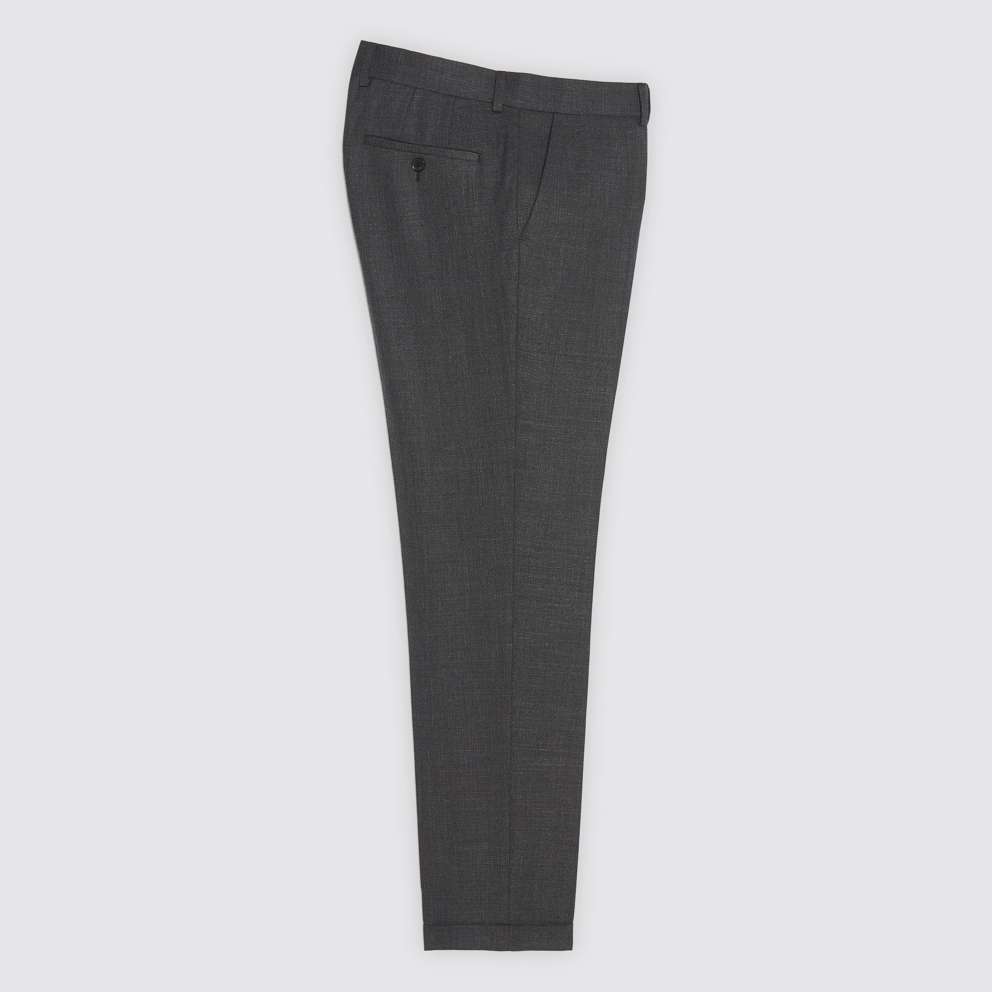 Pantaloni da completo in lana : Abiti & Smoking colore Grigio
