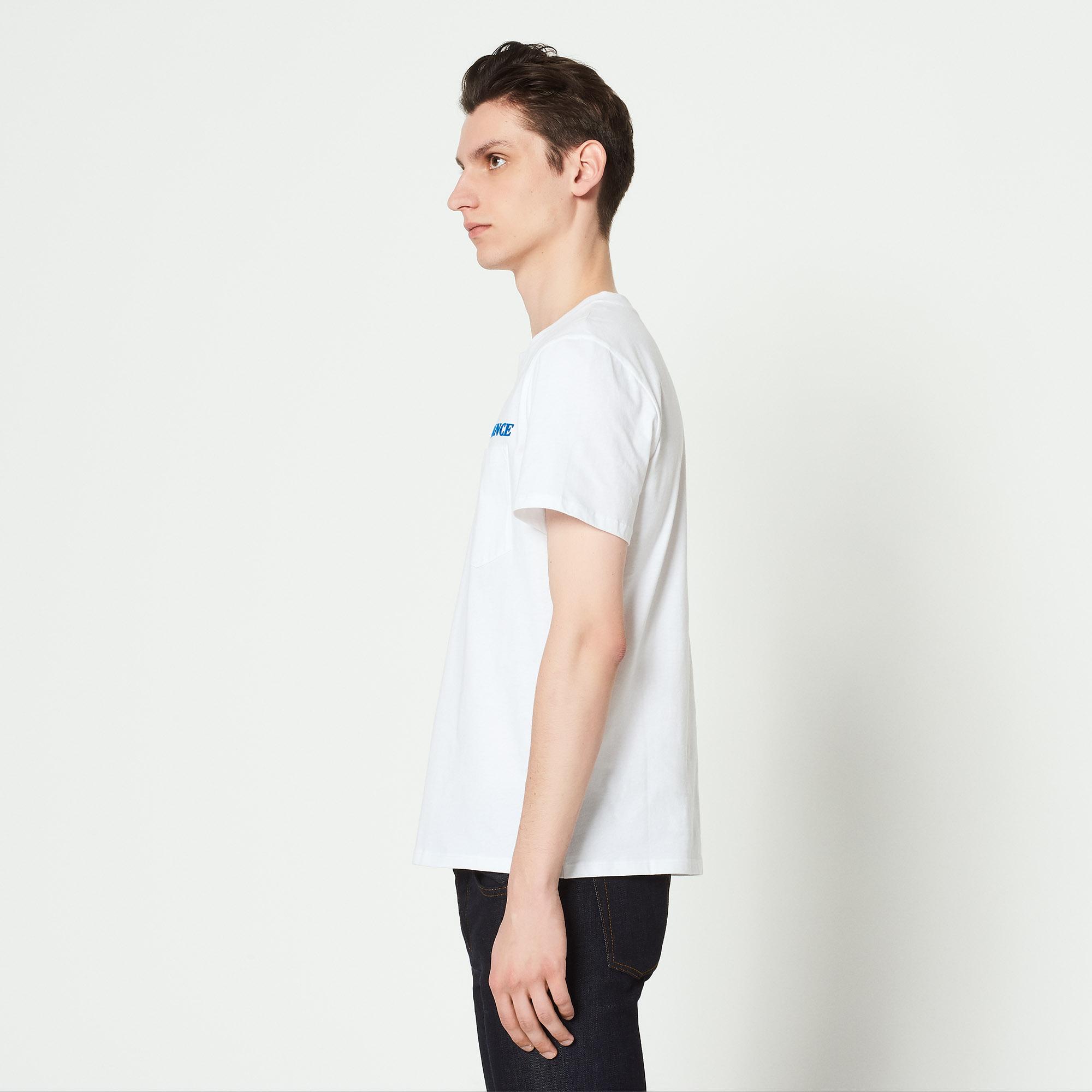 T-shirt floccata Romance : Magliette & Polo colore Bianco