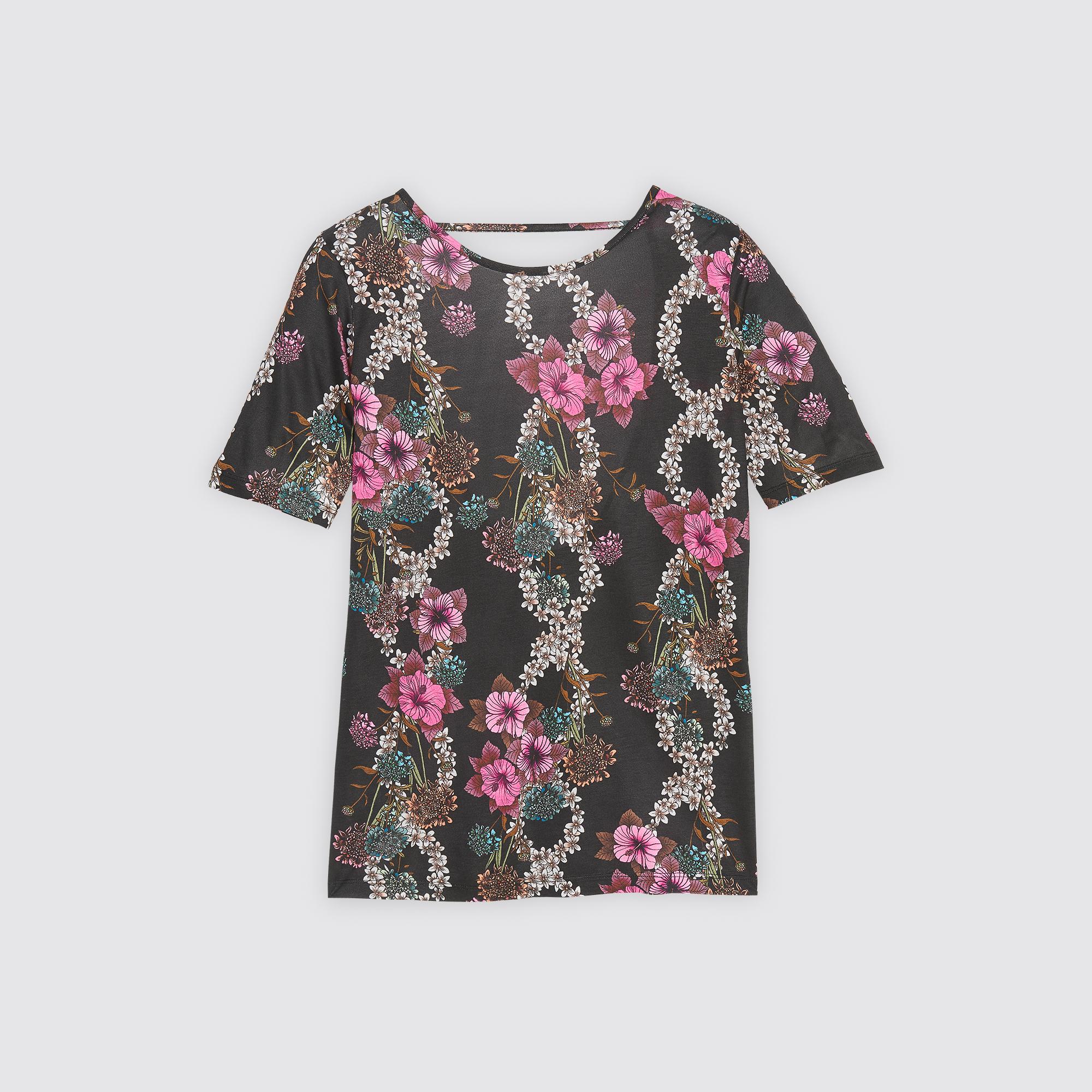T-shirt con stampa all-over : Magliette colore Nero