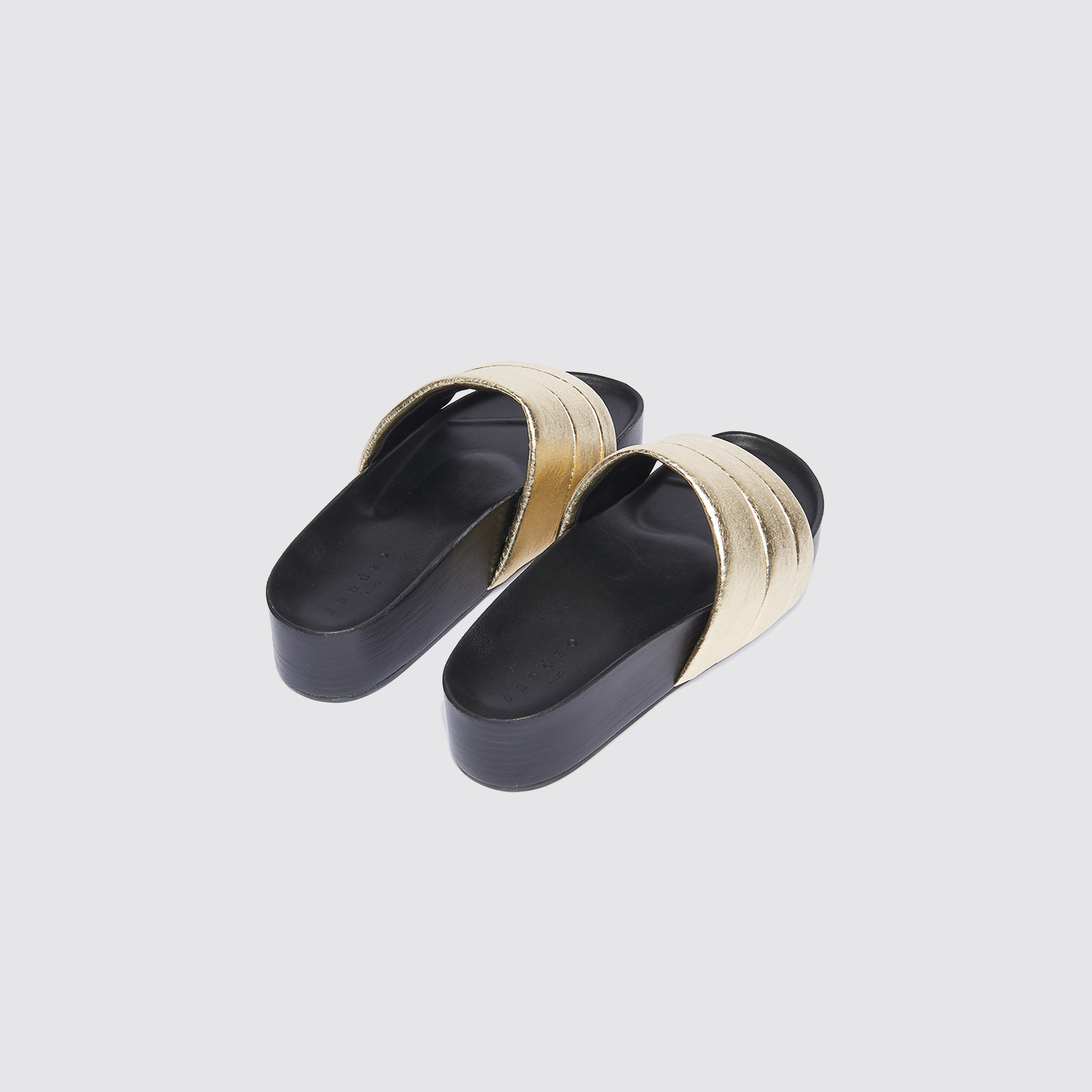 Sandali con zeppa : Tutte le Scarpe colore Oro