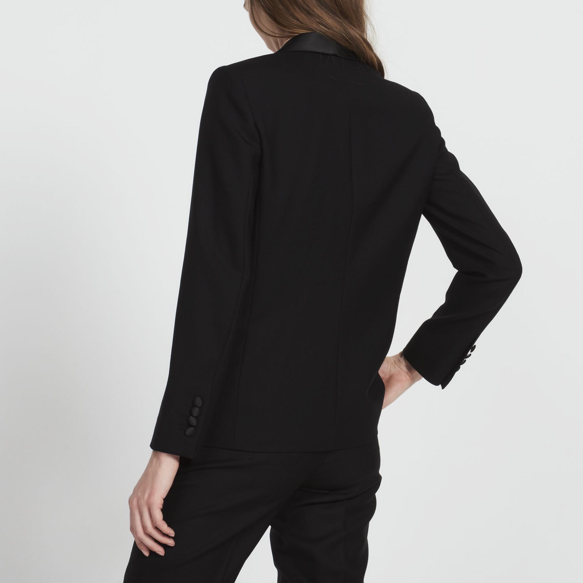 Giacca di tailleur in lana : Collezione Estiva colore Nero