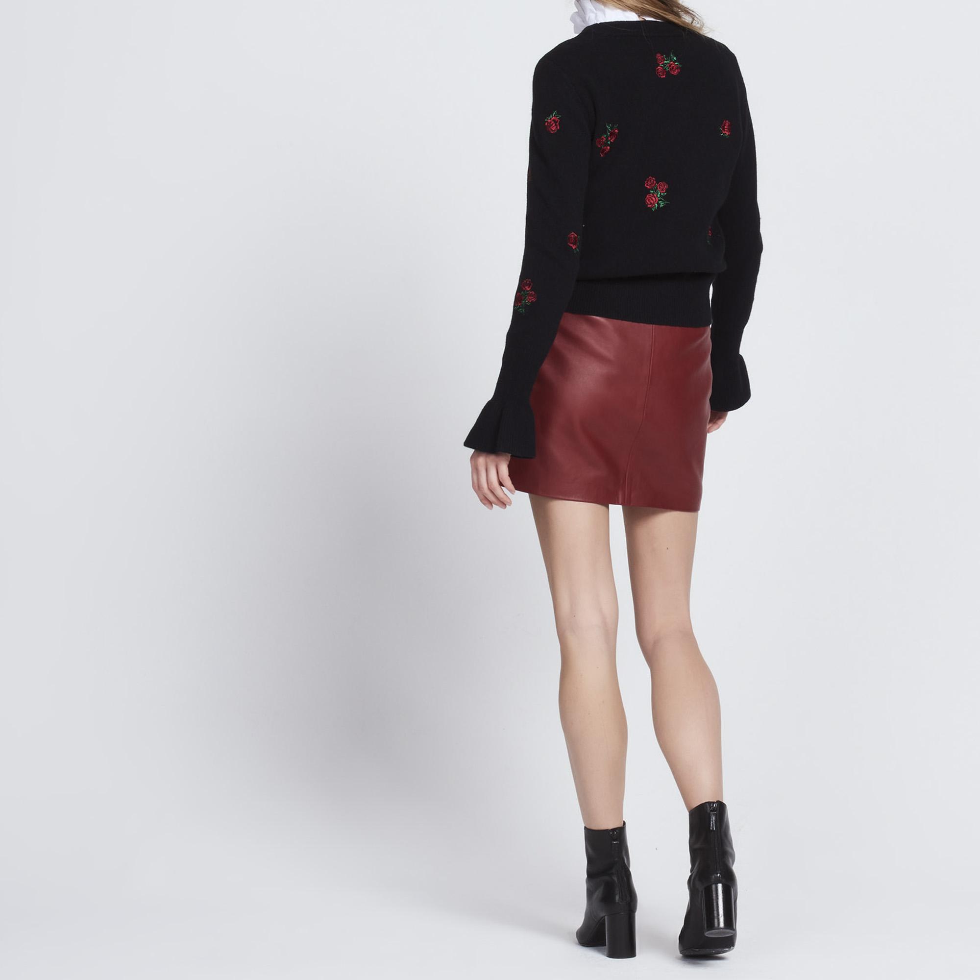Pullover in lana con rose ricamate : La Sélection Last Chance colore