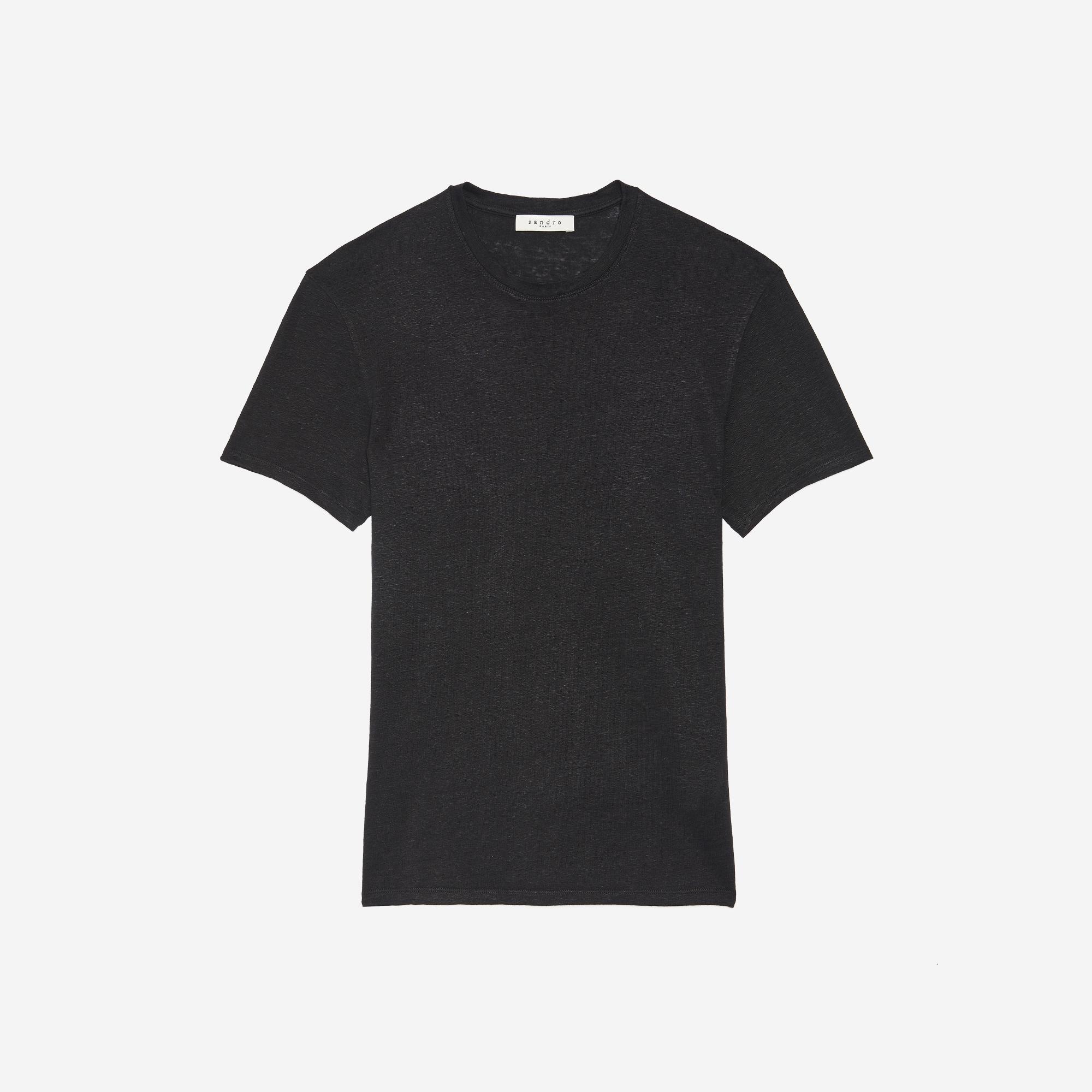 T-shirt en lin : Collezione Estiva colore Nero