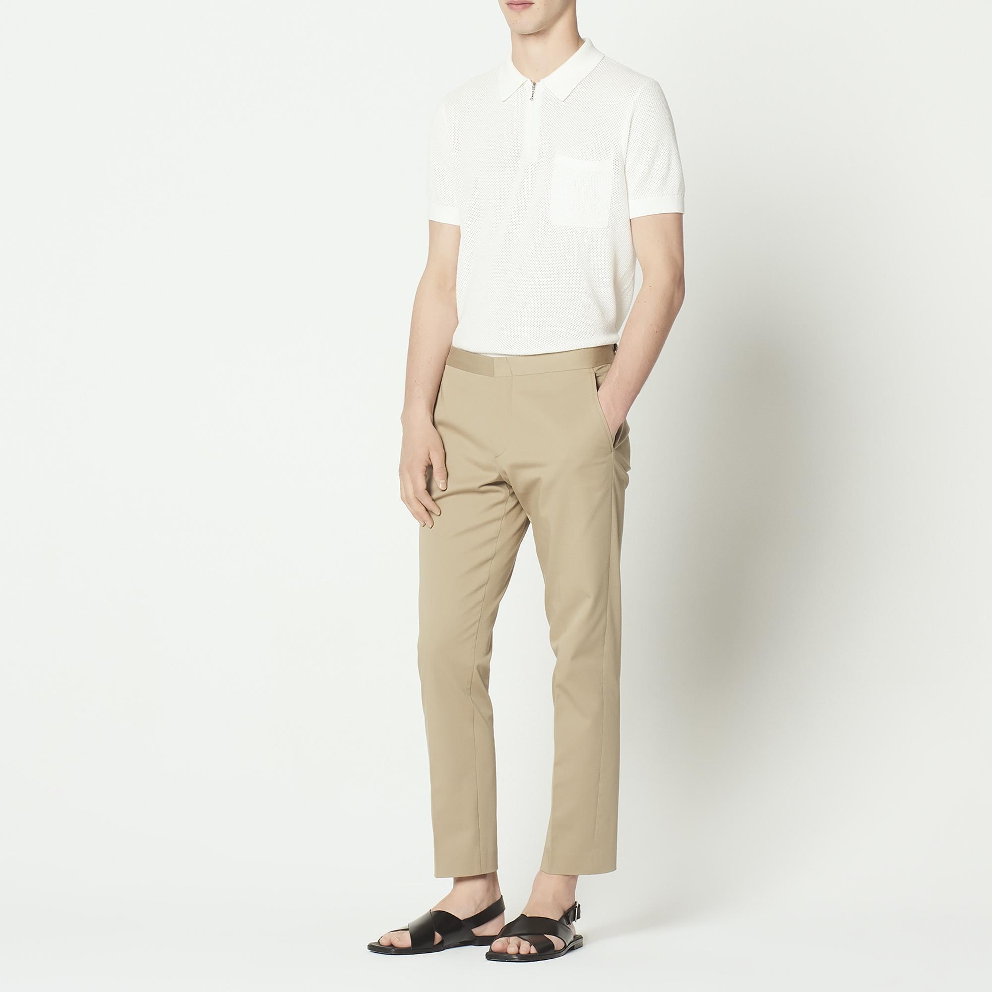 Pantaloni chino : Sandro x Mr Porter colore Sabbia