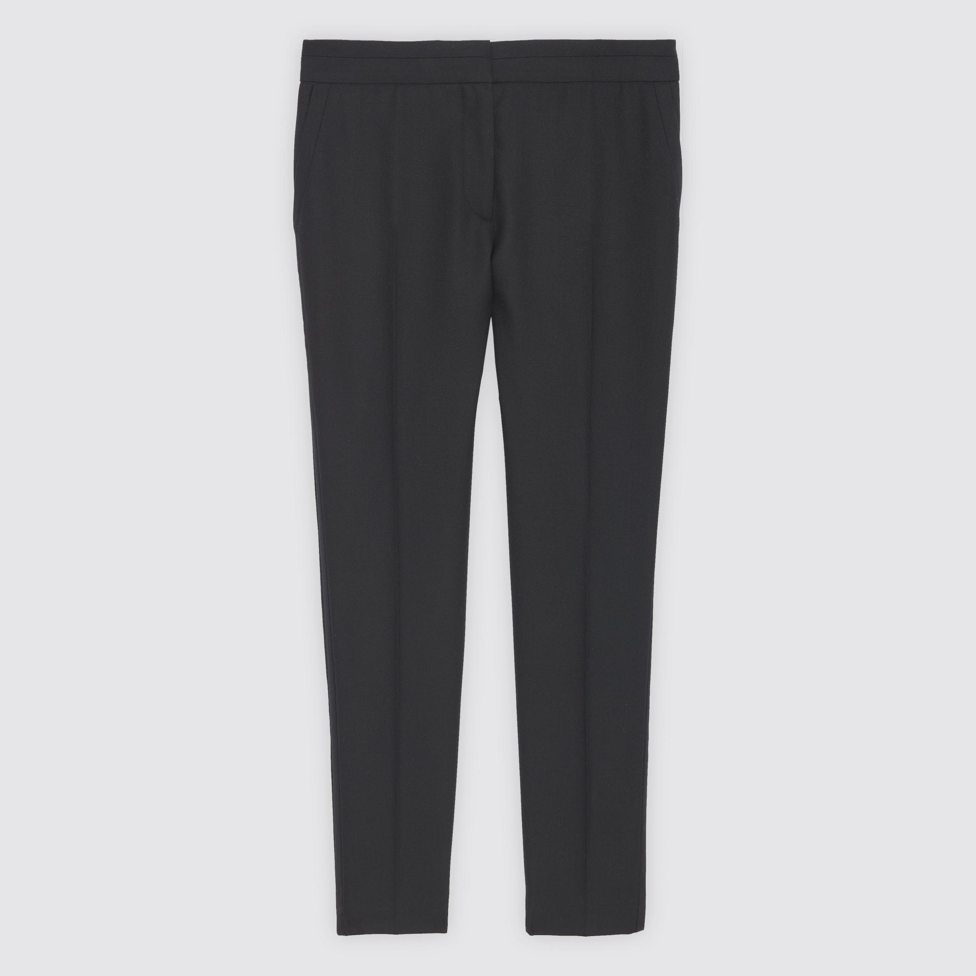 Pantaloni 7/8 : Pantaloni colore Nero