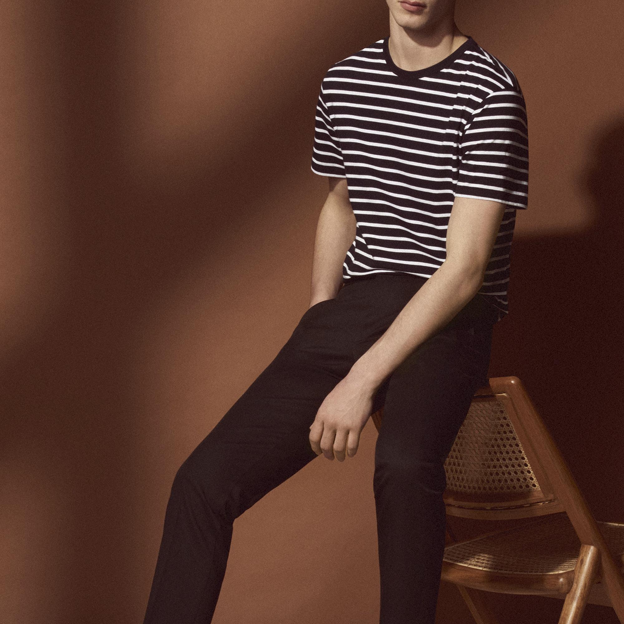 Pantaloni chino : Sandro x Mr Porter colore Nero