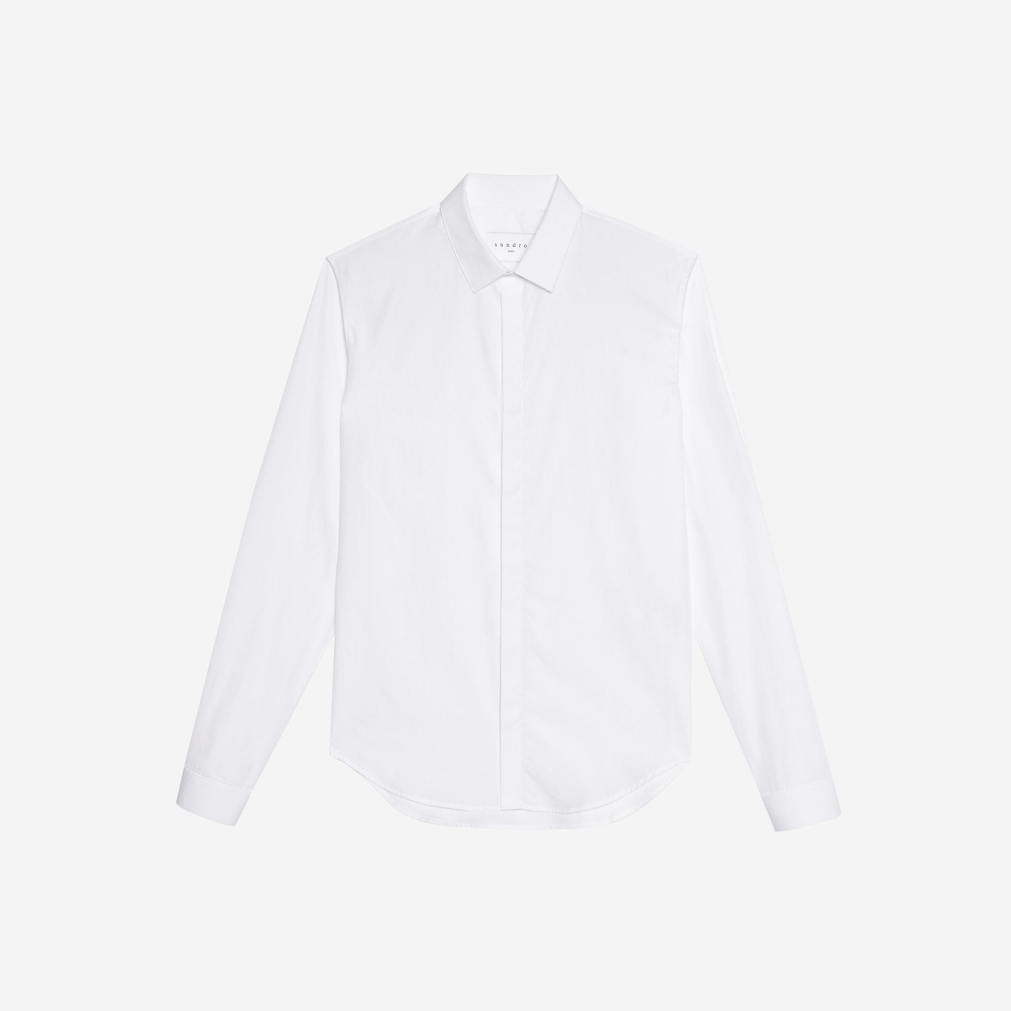 Camicia in popeline : Collezione Estiva colore Bianco