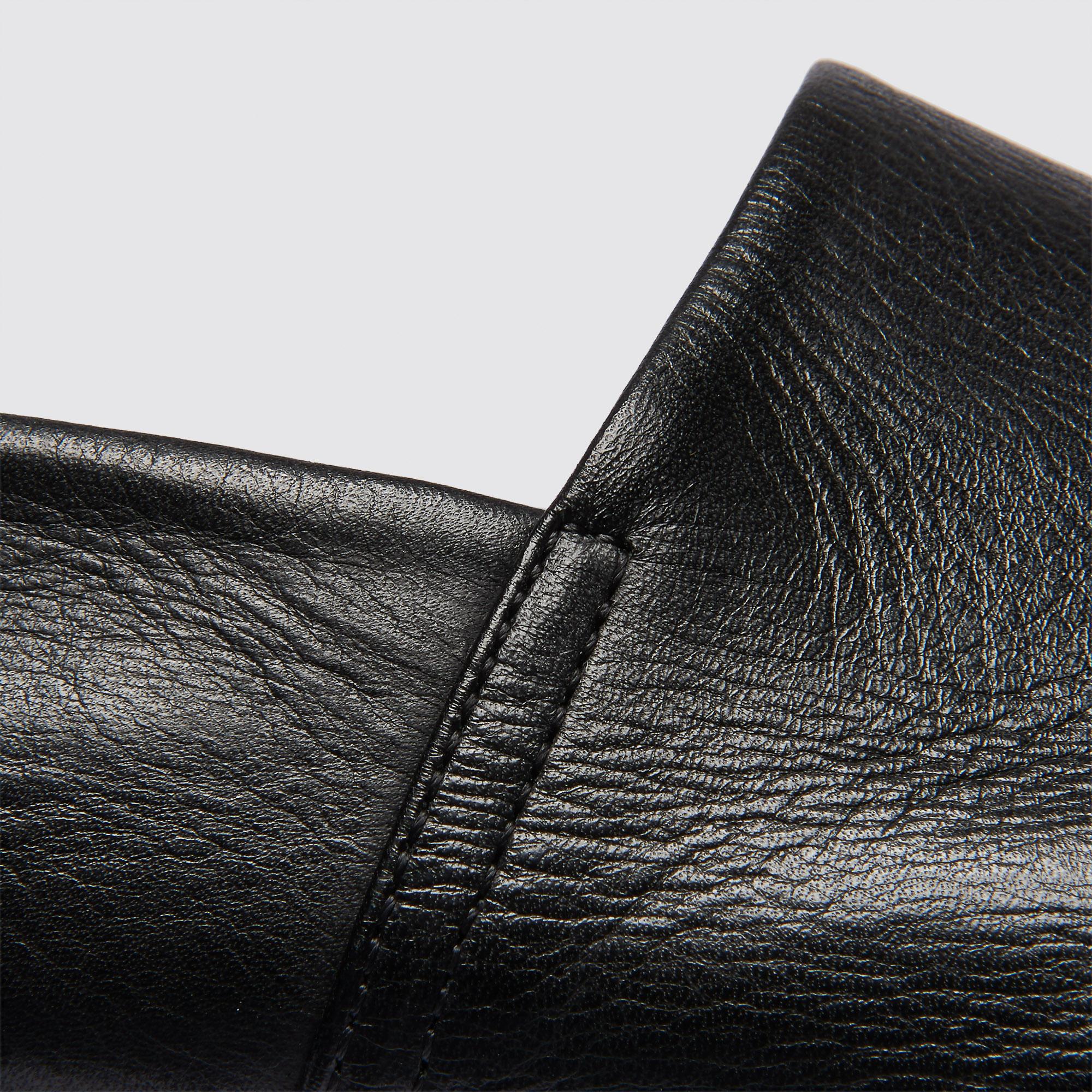 Slipper in pelle liscia : Scarpe colore Nero
