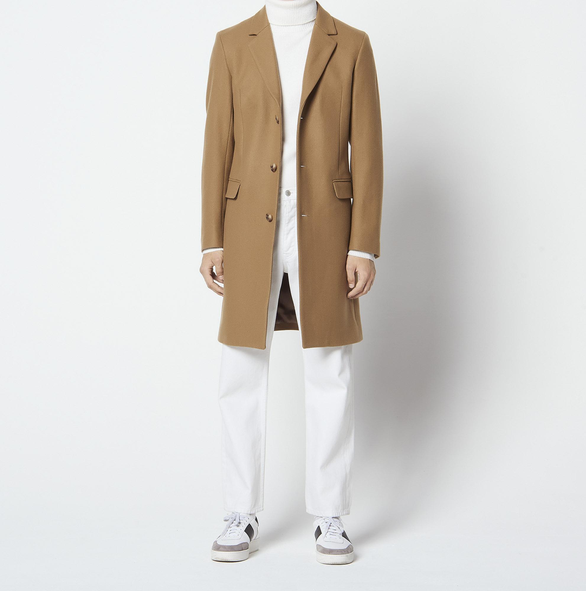 Cappotto lungo a tre bottoni : Collezione Estiva colore Beige