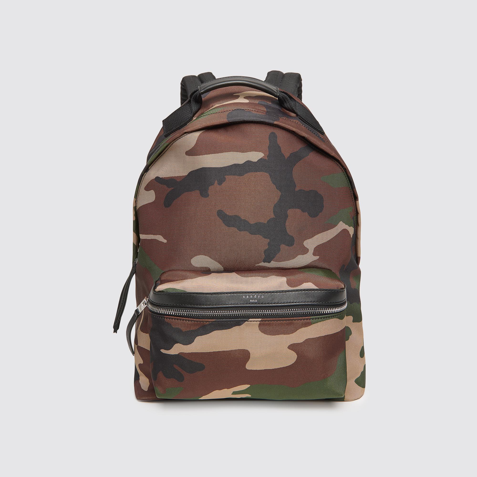 Zaino in tela tecnica : Zaini colore Camouflage